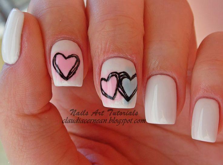 Claudia C. valentine #nail #nails #nailart
