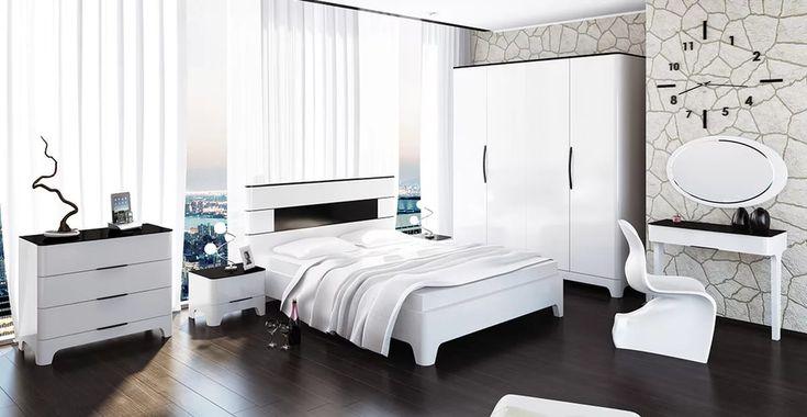 Красивая современная мебель для спальни. 35 фото дизайнерских идей