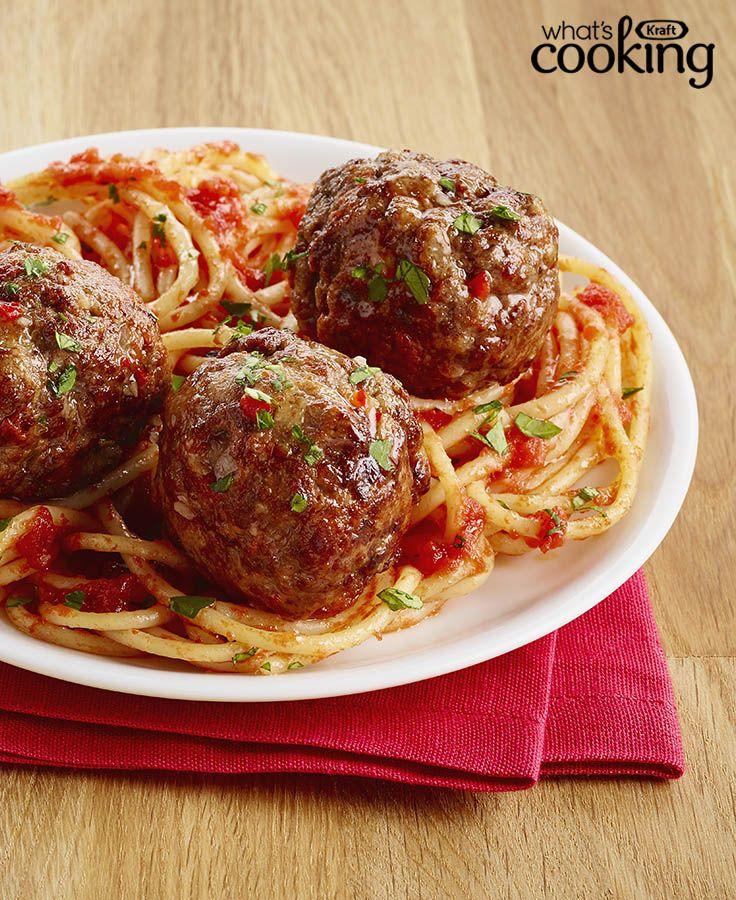Nonna's Italian Meatballs #recipes