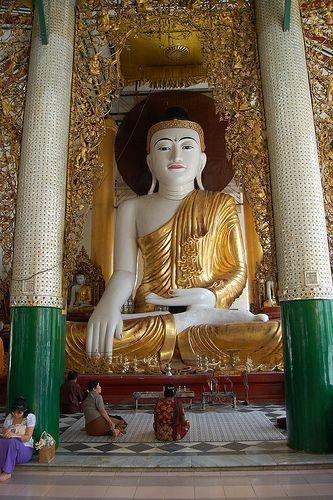 Yangon+(Rangun)-Pagoda de Shwadagon