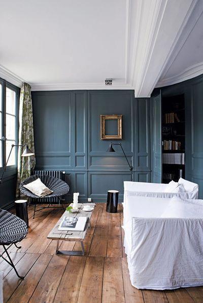 Osez le bleu dans votre salon : 7 photos de salons bleus ...