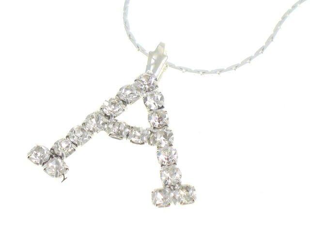 Łańcuszek z zawieszką literka A 42cm 4,19 zł - Ręcznie robiona biżuteria \ Łańcuszki - MarMon.com.pl