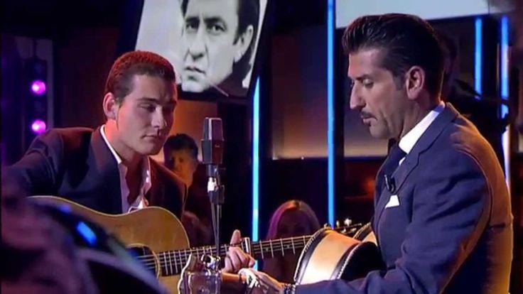 Sunday Morning Coming Down - Danny Vera / Douwe Bob duet (DWDD)
