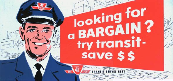 vintage ttc adverts bargain