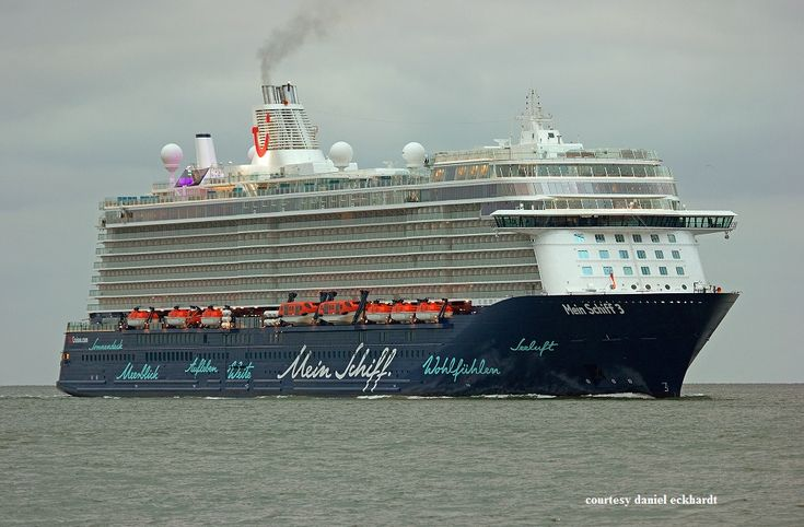 MEIN SCHIFF 3. Ιδιοκτησία: TUI Cruises Gmbh. - Germany. (Beneficial owner: TUI AG.). Διαχείρηση: TUI Cruises Germany (joint venture between Royal Caribbean Cruises Ltd. 50% & TUI AG. 50%). 13/06/2014. 99.526 GT ~ 293,20 μ.μ. ~ 35,8 μ.πλάτος ~ 12 κατ/τα ~ 2.506~2.790 επ. ~ 1.000 ατ.πλ.