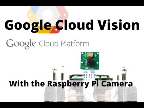 (3) Introduction to Google Vision and the Raspberry Pi Camera - YouTube