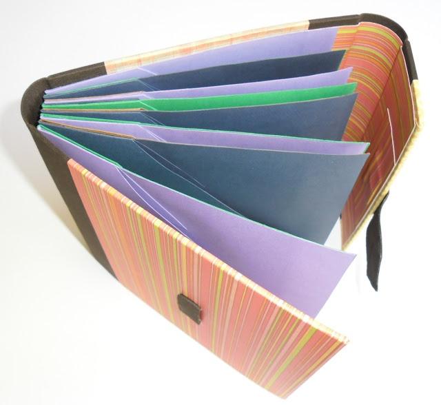 Bella Linke - Encadernação Artesanal e Cartonagem: Organizador