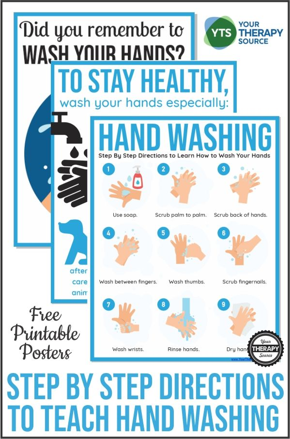 Hand Washing Posters For Schools Free Printables Hand Washing