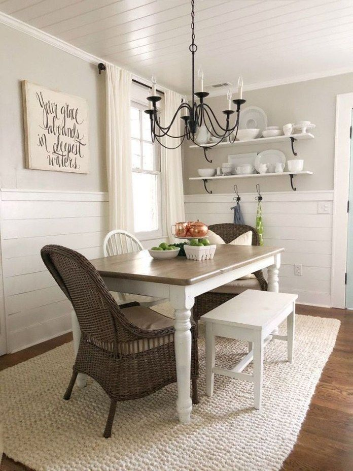 Farmhouse Dining Room Ideas Are Adorable And Lasting This Is Simple And Stunnin Farmhouse Dining Room Table Modern Farmhouse Dining Room Farmhouse Dining Room