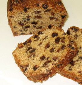 This sultana loaf cake is low fat and slices nice it also improves with a couple of days ageing.
