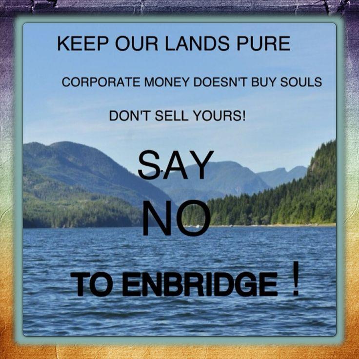 No To Enbridge Northern Gateway Pipeline -#AdsFor Kitimat