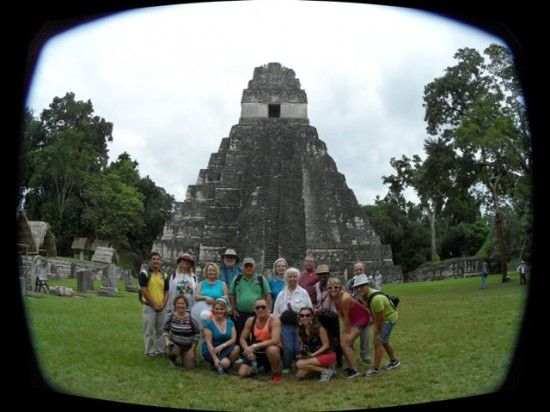 On November 2nd, six crew members and 13 guests from Statendam joined together in Puerto Quetzal, Guatemala, to participate in the Tikal, Maya City of Voices to
