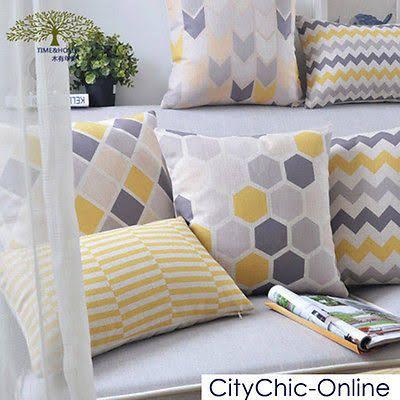 Yellow & Grey Home Vintage ...