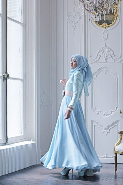 She's look so adorable in hijab  :)