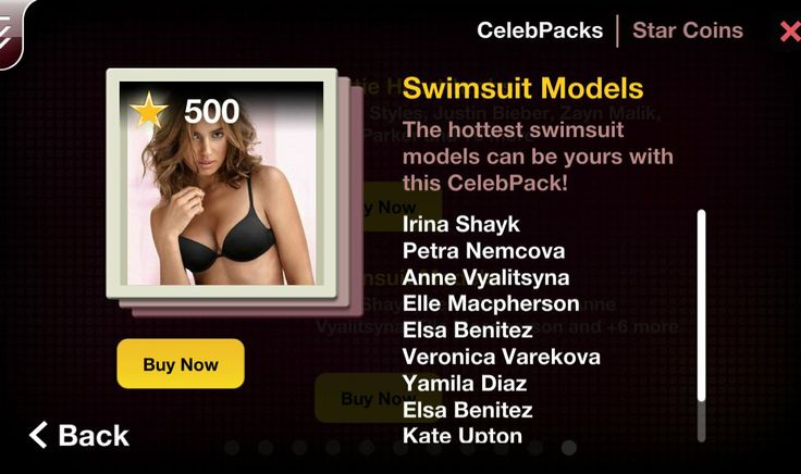 Summer is endless and the water is just fine. The hottest swimsuit models from Sport Illustrated Swimsuit edition can be yours with this CelebPack! Pack includes: Irina Shayk Petra Nemcova Anne Vyalitsyna Elle Macpherson Elsa Benitez Veronica Varekova Yamila Diaz Elsa Benitez Kate Upton Brooklyn Decker