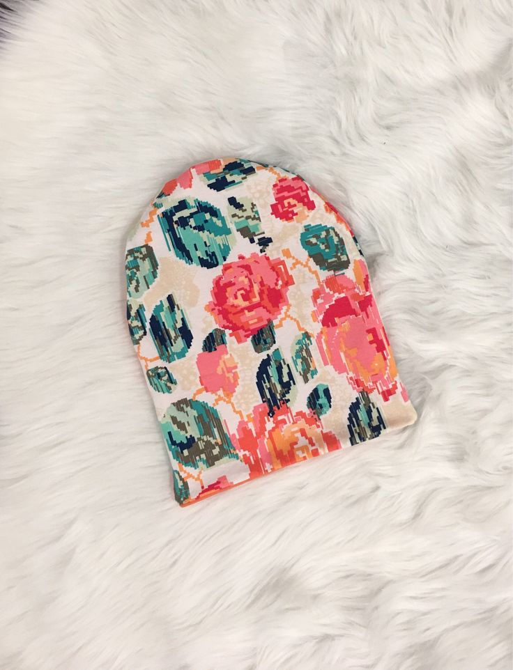 A personal favorite from my Etsy shop https://www.etsy.com/ca/listing/557097663/slouchy-beanie-reversible-beanie-floral