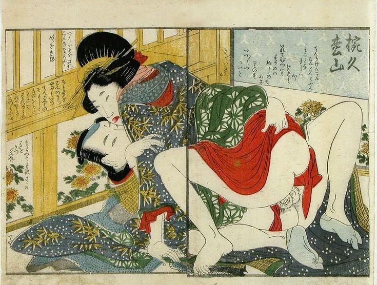japanese erotic art print