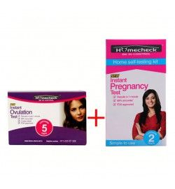 Buy 1 Homecheck New Instant Ovulation Test Kit (5 Cards) Get pregnant faster with the Homecheck New Instant Ovulation Test Kit (contains 5 ovulation cards), Read here: http://www.home-check.net.in/ovulation-kits/homecheck-new-instant-ovulation-test-card