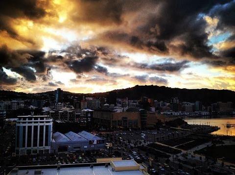 The sky over Wellington today (15.6.12)