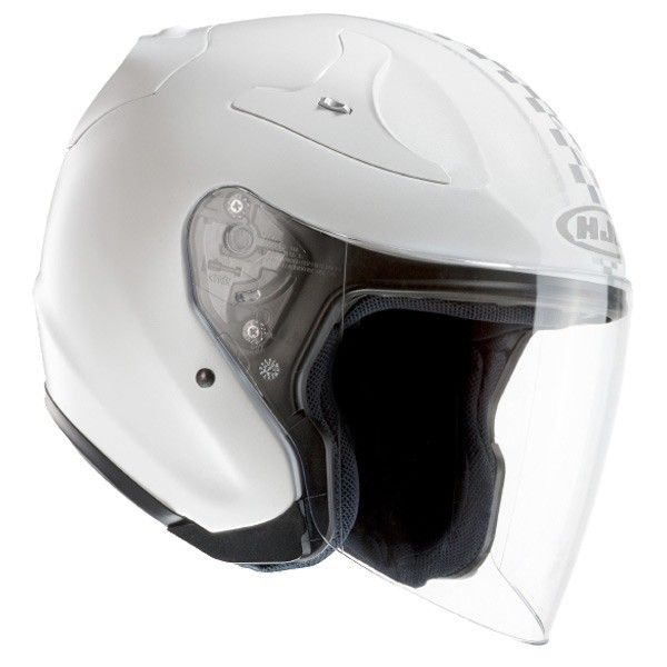 Casco moto bianco in carbonio HJC RPHA JET Gantz / MC-10
