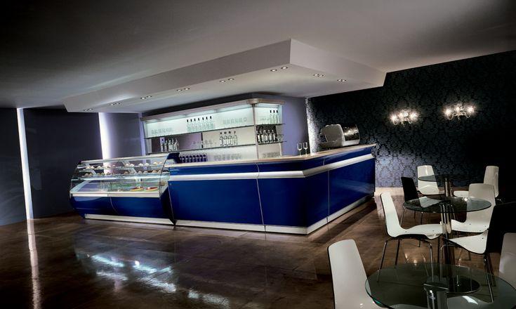 Il banco  bar Boston è un connubio perfetto di tecnologia e funzionalità, unite ad uno stile e un design inconfondibile.