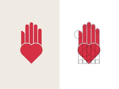 Heart Hand Logo + Construction