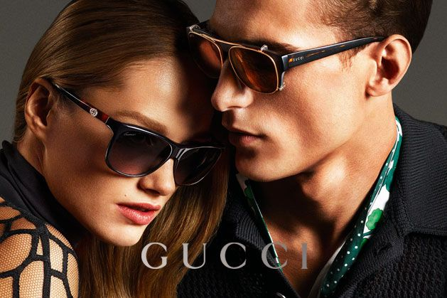 Guccis Spring 2013 Campaign Stars Anja Rubik and Karmen Pedaru by Mert & Marcus