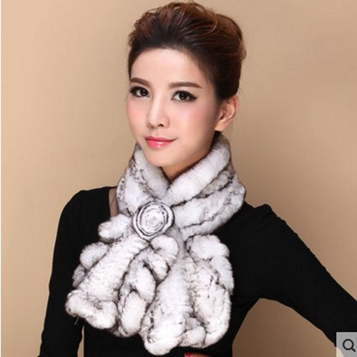 >> Click to Buy << Rabbit fur scarves winter female rabbit real fur collar middle-aged thickened integral skin knit wear scarves #Affiliate