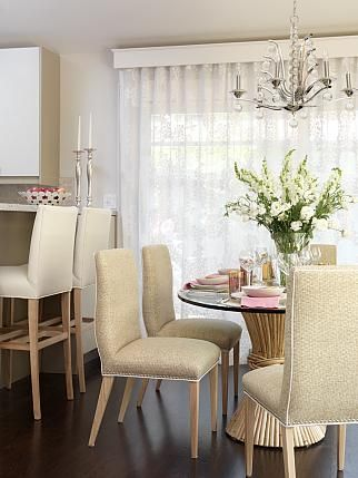 Dining Room | Sarah Richardson Design. Leading into dining room.