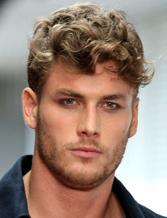 How To Style Short Curly Hair Men