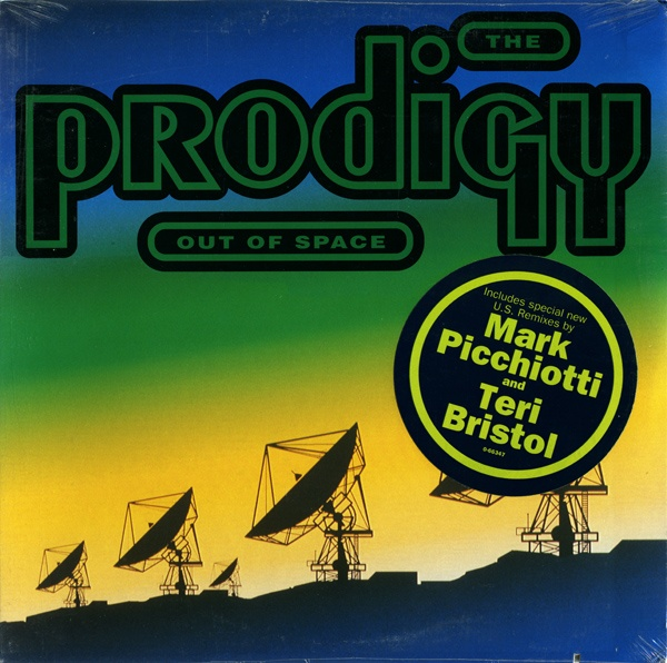 "The Prodigy, Out Of Space, Vinyl, 12"", 33 ⅓ RPM, Single, US, 1992"