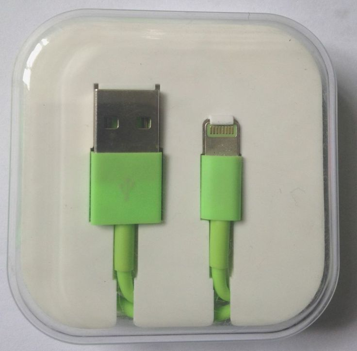 iPhone 5 5S/5C iPad Lightning USB Cable Green