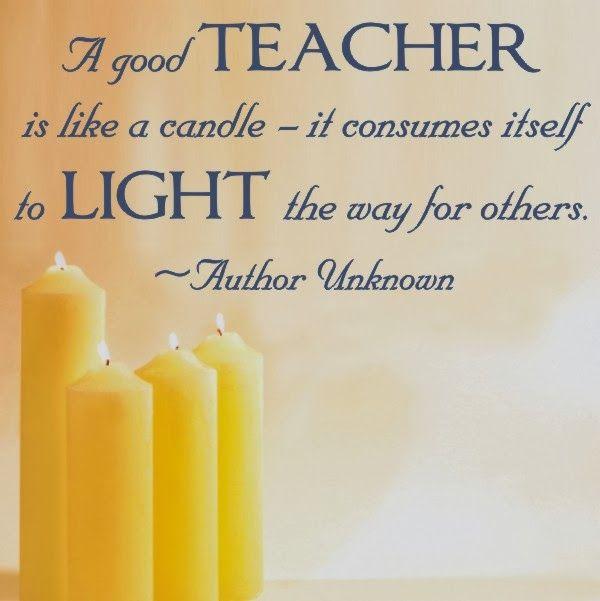 Inspirational Quotes For Teacher Appreciation. QuotesGram
