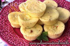 Receita de Muffins de Ricota em 3 Minutos
