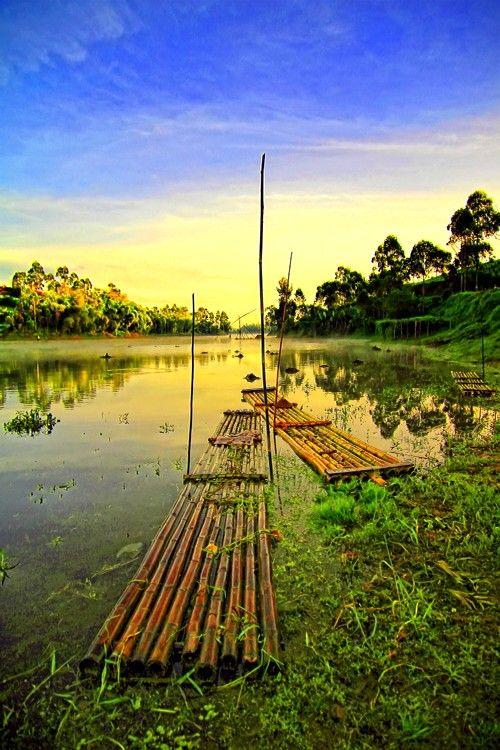 Situ Cileunca, Pangalengan, West Java