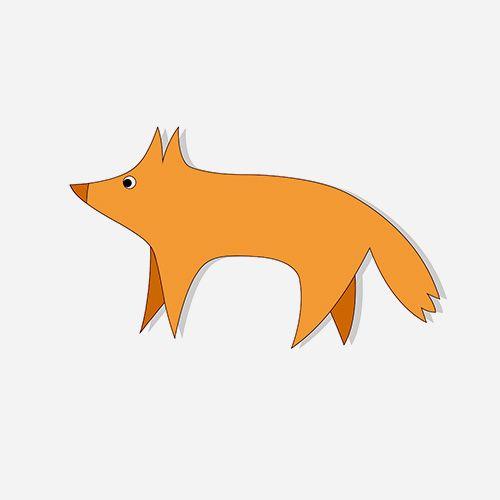 Логотип лиса скачать вектор