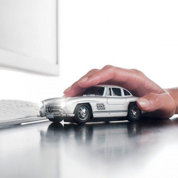 Mercedes benz 300sl optical mouse mercedes benz for Mercedes benz gifts