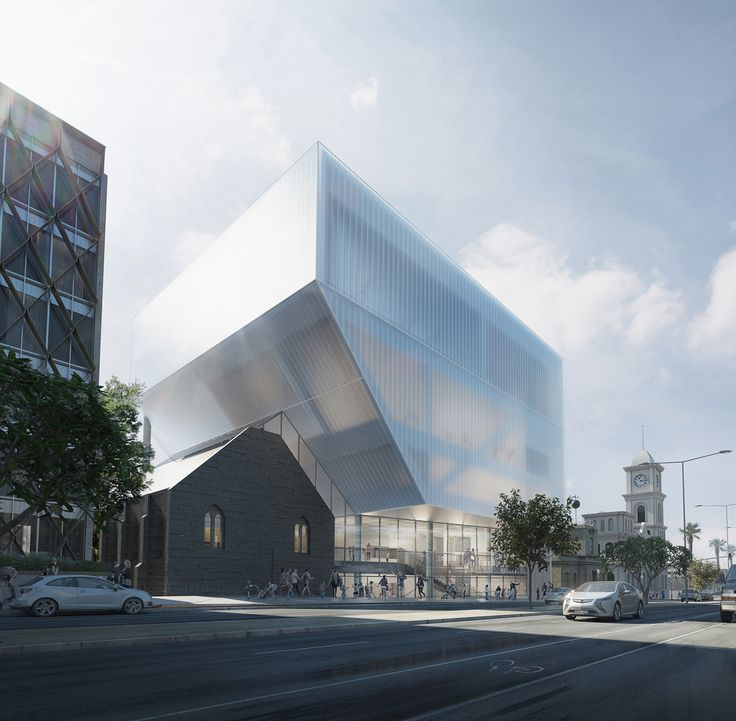 Gallery of Hassell Unveil Design for Geelong Performing Arts Center - 1