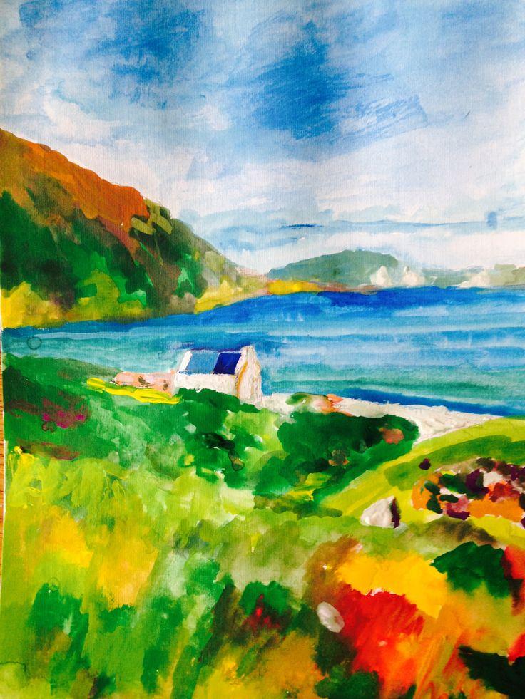 Keen Bay, Achill, Co. Mayo, Ireland