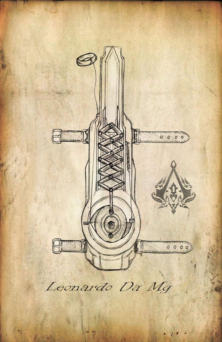 assassins creed hidden dagger tat | De última pruebo haciendo esta, el prototipo de madera es más ...