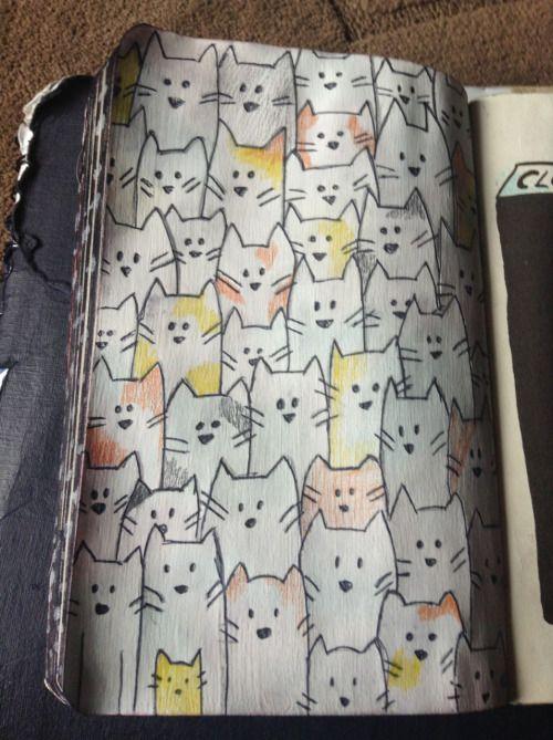 rainbows-and-shitty-shit:  Cats