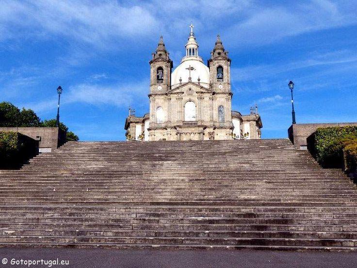 Nossa Senhora do Sameiro is a beautiful basilica looking over the city of Braga.