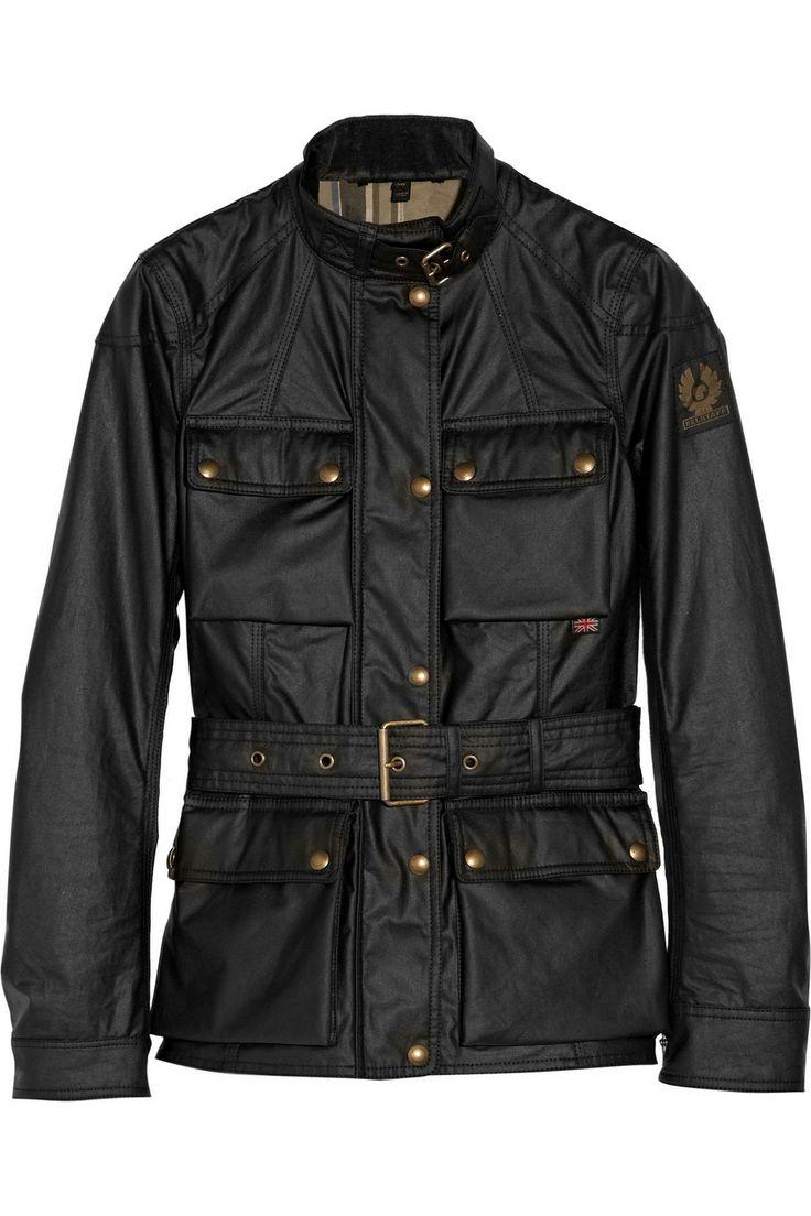 Belstaff|Roadmaster waxed-cotton jacket|NET-A-PORTER.COM
