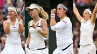 The semifinals at Wimbledon are set, and Bank of the West Classic entries Sabine Lisicki, Agnieszka Radwanska, Marion Bartoli and Kirsten Flipkins have all advanced to the final four at the All-England Club.
