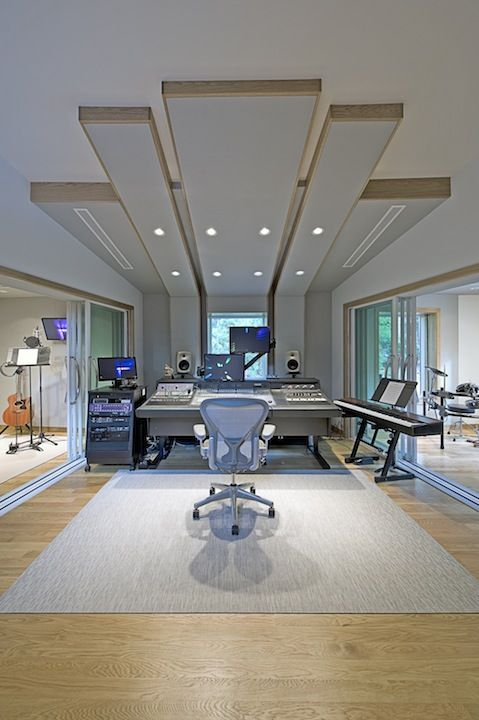 WSDG - Acoustic Design and Consulting TEC Award Nominee for MonkMusic Studios, Long Island, NY