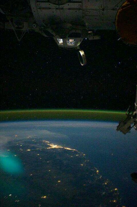 Brisbane, Australia from space!