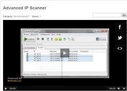 Monitoreo de Red y Computación: Video Advanced IP Scanner