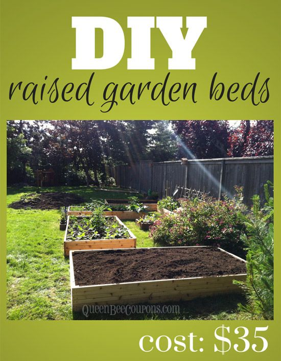 Build Raised Beds For Less   As Low As $35. Cheap Raised Garden ...