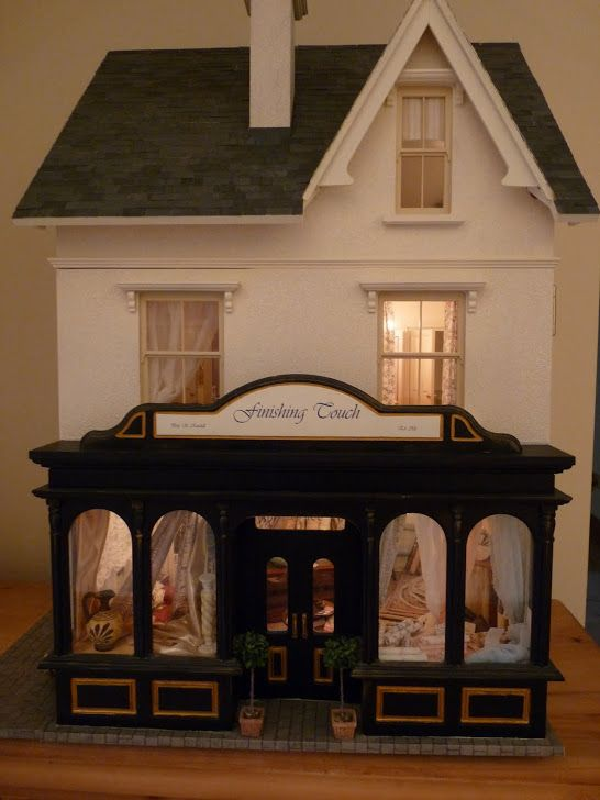 My Miniature Shop Finishing Touch Dollhouses For Me