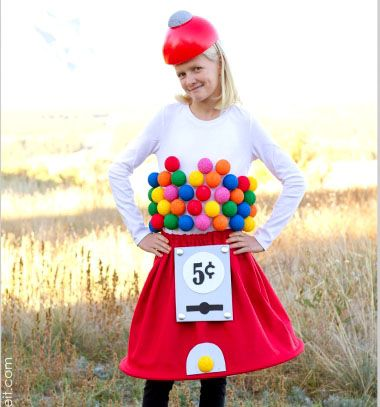 DIY Bubblegum machine Halloween costume - sewing tutorial // Rágó automata farsangi jelmez - varrási útmutató // Mindy - craft tutorial collection // #crafts #DIY #craftTutorial #tutorial